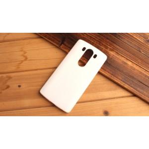Пластиковый матовый непрозрачный чехол для LG V10