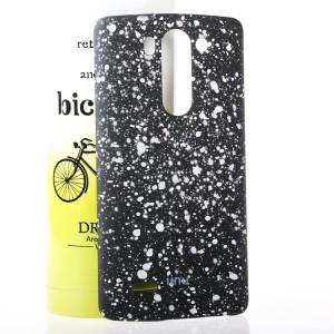 Пластиковый матовый дизайнерский чехол с голографическим принтом Звезды для LG G3 S