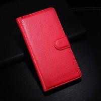 Чехол портмоне подставка с защелкой для LG G3 S Красный