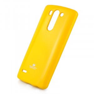 Силиконовый глянцевый непрозрачный чехол для LG G3 S