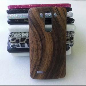 Пластиковый матовый текстурный чехол дизайн Природа для LG G3 S
