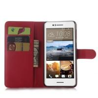 Чехол портмоне подставка с защелкой для HTC Desire 728 Красный