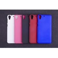 Пластиковый матовый непрозрачный чехол для HTC Desire 728