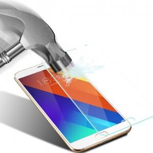 Ультратонкое износоустойчивое сколостойкое олеофобное защитное стекло-пленка для Meizu Pro 5
