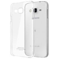 Пластиковый транспарентный чехол для Samsung Galaxy J7