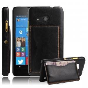 Дизайнерскийчехол накладка с отделениями для карты и подставкой для Microsoft Lumia 550