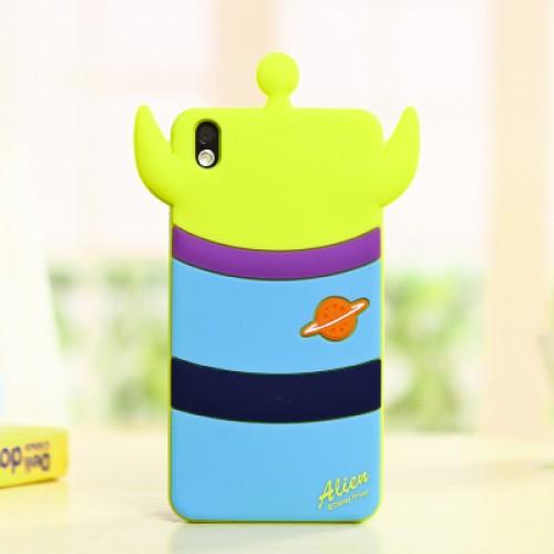 Силиконовый дизайнерский фигурный чехол для HTC Desire 816