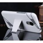Поликарбонатный дизайнерский чехол с ножкой подставкой для Meizu Pro 5