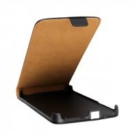 Чехол вертикальная книжка на пластиковой основе с магнитной застежкой для HTC Desire 816 Черный