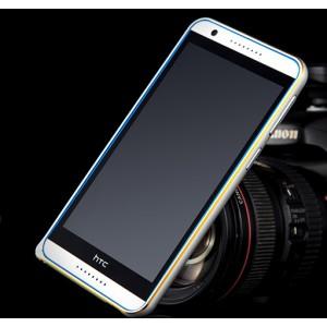 Металлический бампер с золотой окантовкой для HTC Desire 816