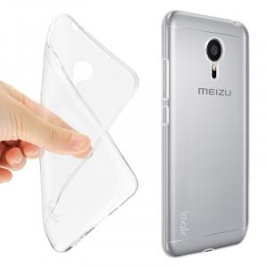 Силиконовый транспарентный чехол для Meizu Pro 5