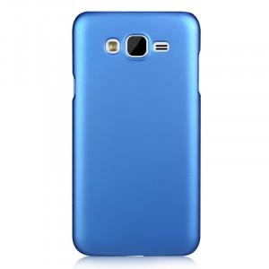 Пластиковый матовый чехол металлик для Samsung Galaxy J7