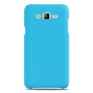 Пластиковый матовый непрозрачный чехол для Samsung Galaxy J7