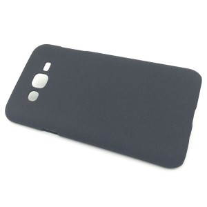 Пластиковый матовый чехол с повышенной шероховатостью для Samsung Galaxy J7