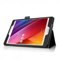 Чехол подставка с рамочной защитой экрана для ASUS ZenPad S 8 Черный