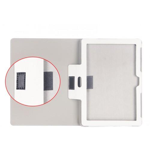 Дизайнерский чехол подставка с рамочной защитой экрана и полноповерхностным принтом для ASUS ZenPad 10