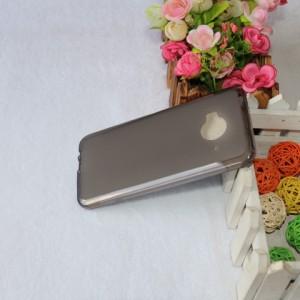 Силиконовый матовый полупрозрачный чехол для HTC One ME Черный