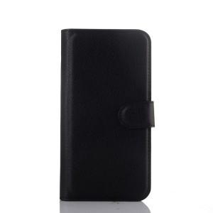 Чехол портмоне подставка на пластиковой основе с магнитной застежкой для HTC One ME Черный
