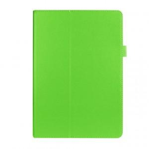 Чехол подставка с рамочной защитой экрана для ASUS ZenPad 10 Зеленый