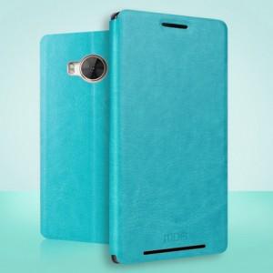 Чехол флип подставка водоотталкивающий для HTC One ME