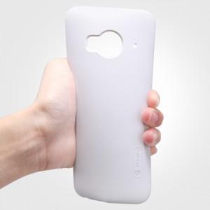 Пластиковый матовый нескользящий премиум чехол для HTC One ME