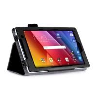 Чехол подставка с рамочной защитой экрана, внутренними отсеками и поддержкой кисти для ASUS ZenPad C 7.0 Черный