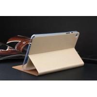 Текстурный чехол подставка на силиконовой основе для ASUS ZenPad 8 Бежевый