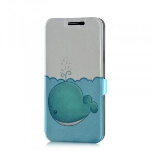 Чехол флип подставка на пластиковой основе с полноповерхностным принтом на магнитной защелке для Samsung Galaxy J7