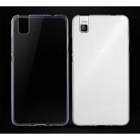 Силиконовый глянцевый транспарентный чехол для Huawei ShotX
