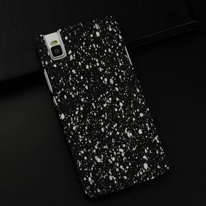 Пластиковый матовый непрозрачный чехол с голографическим принтом Звезды для Huawei ShotX