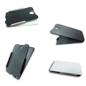 Кожаный чехол книжка для Alcatel One Touch Idol 2
