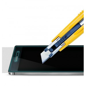 Ультратонкое износоустойчивое сколостойкое олеофобное защитное стекло-пленка для Huawei Ascend P7