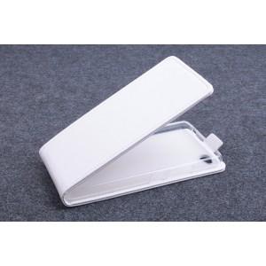 Чехол вертикальная книжка на силиконовой основе с магнитной застежкой для ZTE Nubia Z9 Mini