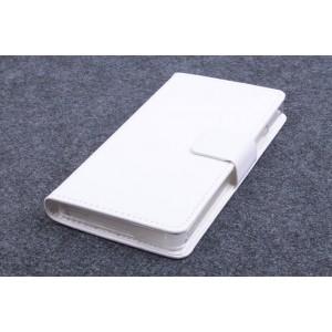 Глянцевый чехол флип подставка с застежкой и внутренними карманами для ZTE Nubia Z9 Mini