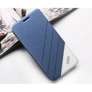 Тестурный чехол флип подставка на силиконовой основе дизайн Уголок для ZTE Nubia Z9 Mini