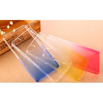 Пластиковый градиентный полупрозрачный чехол для ZTE Nubia Z9 Mini