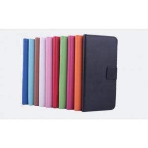 Чехол портмоне подставка на силиконовой основе с застежкой и внутренними карманами для ZTE Nubia Z9 Mini
