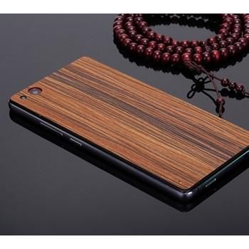 Клеевая ультратонкая 0.8 мм натуральная деревянная накладка для ZTE Nubia Z9 Mini