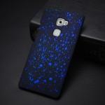 Пластиковый матовый непрозрачный чехол с голографическим принтом Звезды для Huawei Mate S