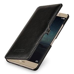 Кожаный чехол горизонтальная книжка (премиум нат. Кожа ) с крепежной застежкой для Huawei Mate S