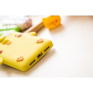 Силиконовый дизайнерский фигурный чехол для Huawei Mate S