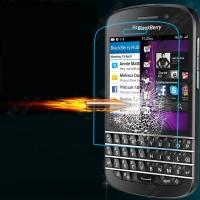 Ультратонкое износоустойчивое сколостойкое олеофобное защитное стекло-пленка для Blackberry Q10