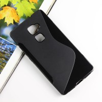Силиконовый матовый чехол с нескользящей текстурой S для Huawei Mate S