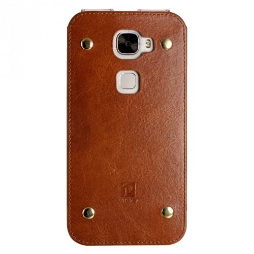 Кожаный мешок для Huawei Mate S
