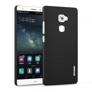 Пластиковый матовый непрозрачный металлик чехол для Huawei Mate S