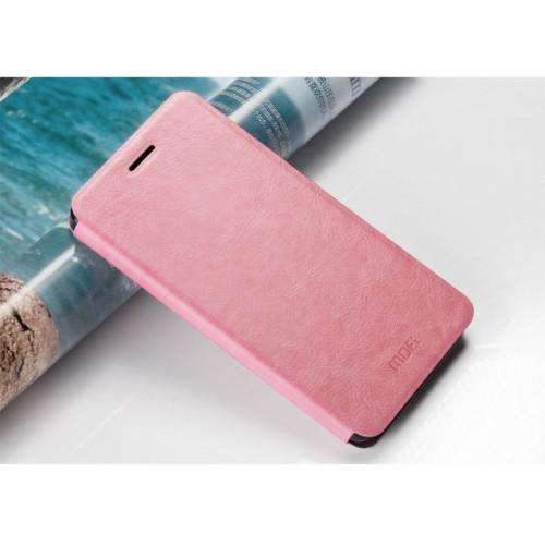 Глянцевый водоотталкивающий чехол флип подставка на силиконовой основе для Huawei Mate S