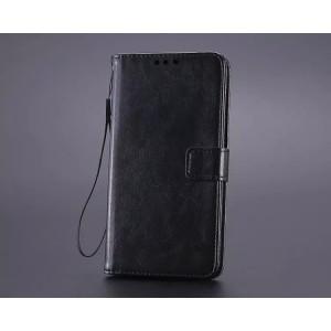 Чехол портмоне подставка на пластиковой основе и на магнитной защелке для Huawei Mate S
