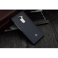 Оригинальный пластиковый матовый нескользящий чехол для Huawei Mate S Черный