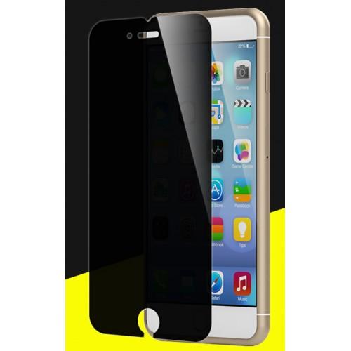 Антишпионское износоустойчивое сколостойкое олеофобное защитное стекло-пленка для Iphone 7/8