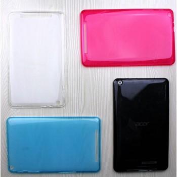 Силиконовый матовый полупрозрачный чехол для Acer Iconia One 8 B1-830